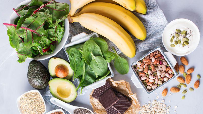 ovocie, zelenina, výživa, magnézium, horčík