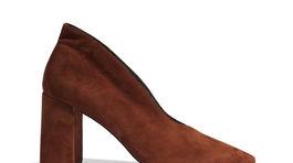 Dámska obuv v škoricovej farbe Reserved, predáva sa za 49,99 eura.