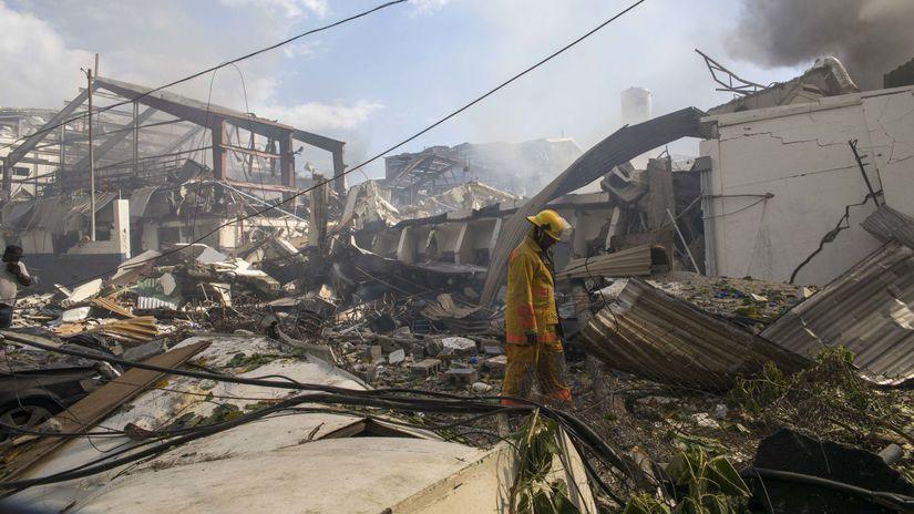 Dominikánska republika, explózia