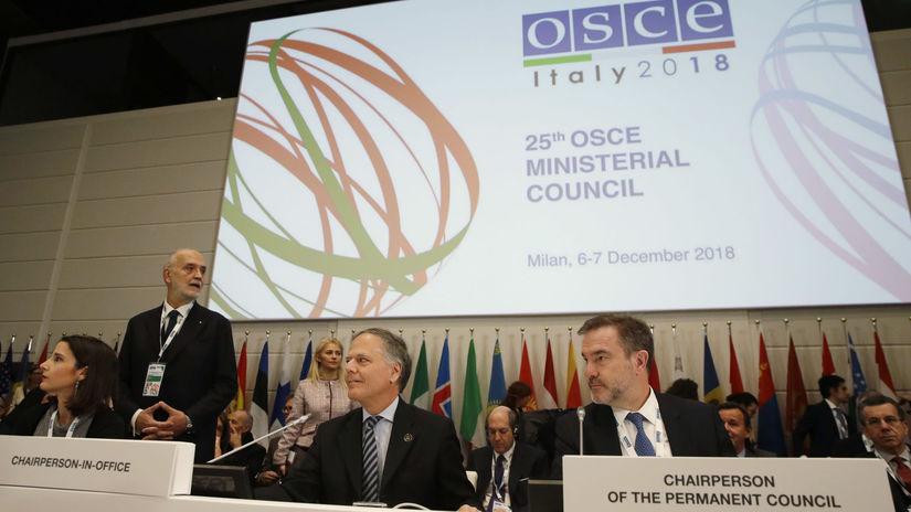 Taliansko OBSE ministerská rada zasadnutie BAX