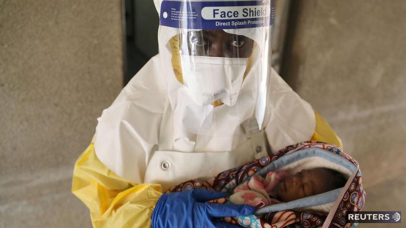 Kongo, ebola, epidémia, černoch, dieťa, afrika