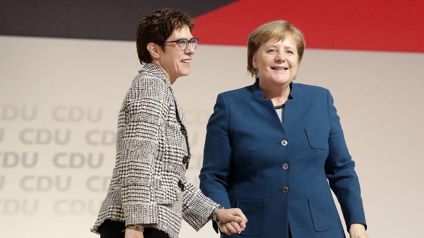 Nemecko, Merkelová, Annegret...