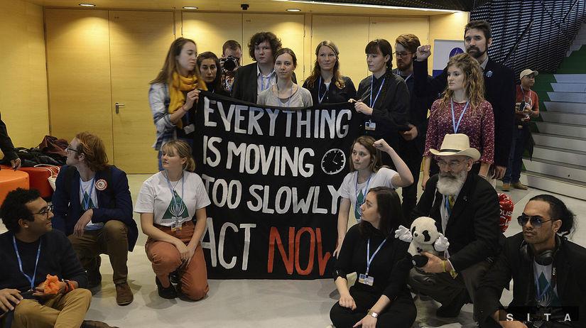Poľsko, ekologickí aktivisti, klimatické zmeny