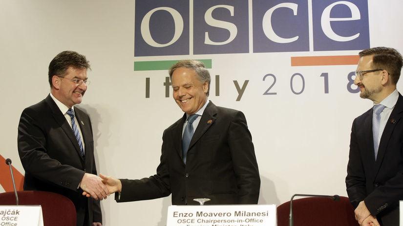 Taliansko, Lajčák, OBSE