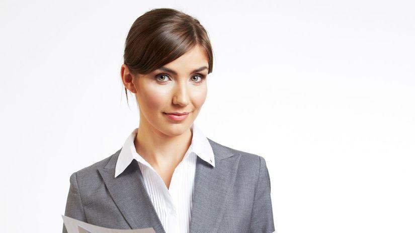 žena, predajca, kariéra, práca