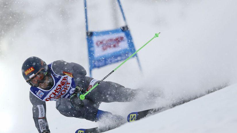 Francúzsko Lyžovanie SP obr.slalom žampa