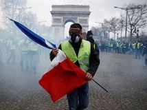 francúzsko, žlté vesty, protest