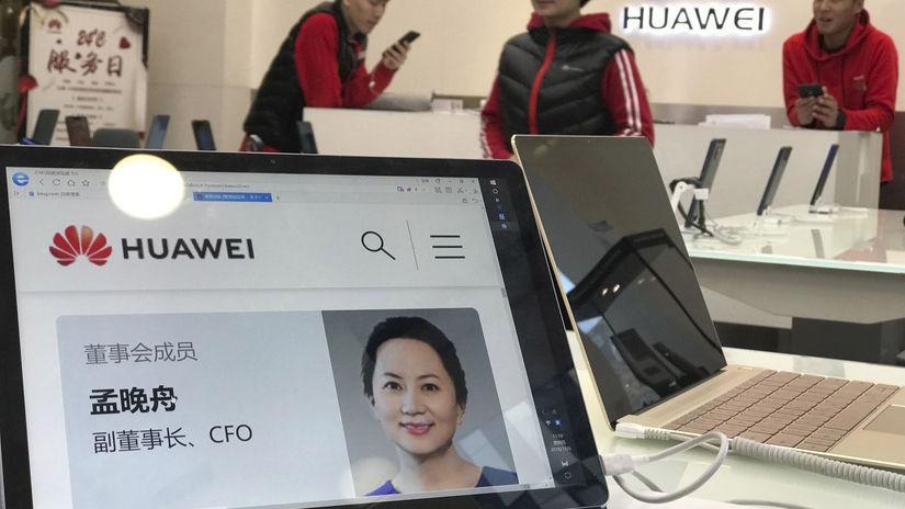 Meng Wan-čou, Huawei