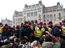 protest, budapešť