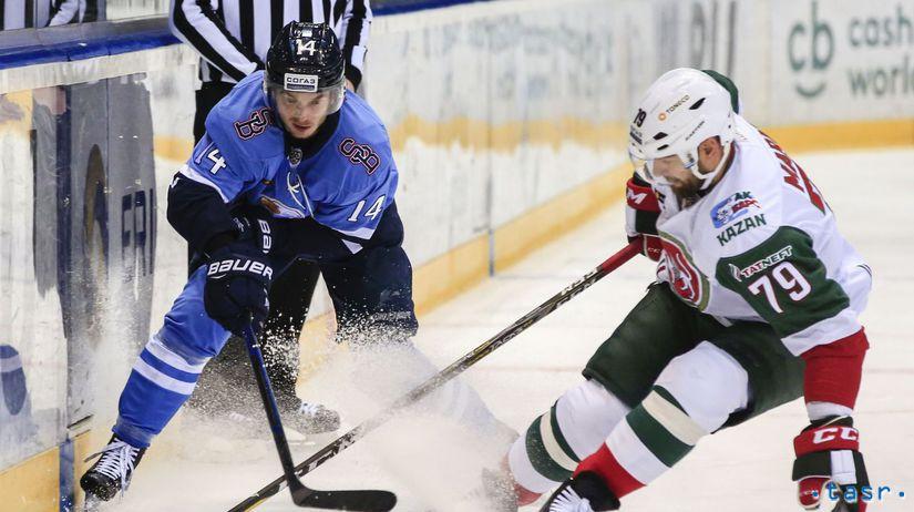 SR hokej KHL Slovan Bratislava Bars Kazaň BAX