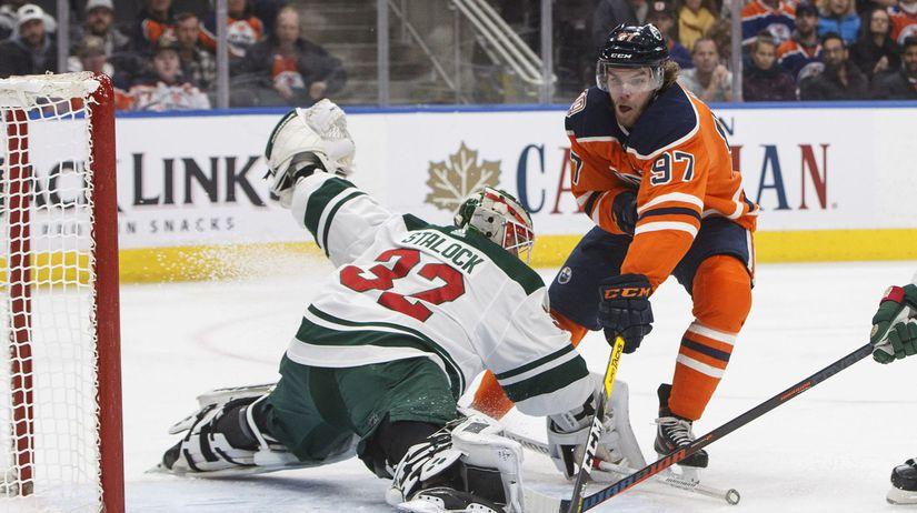 Wild Oilers Hockey mcdavid