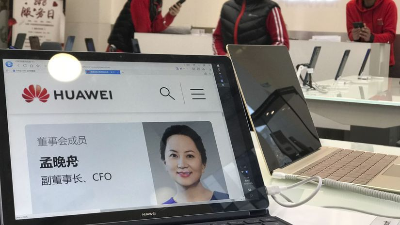 Čína, Kanada, Huawei, Meng Wan-čou