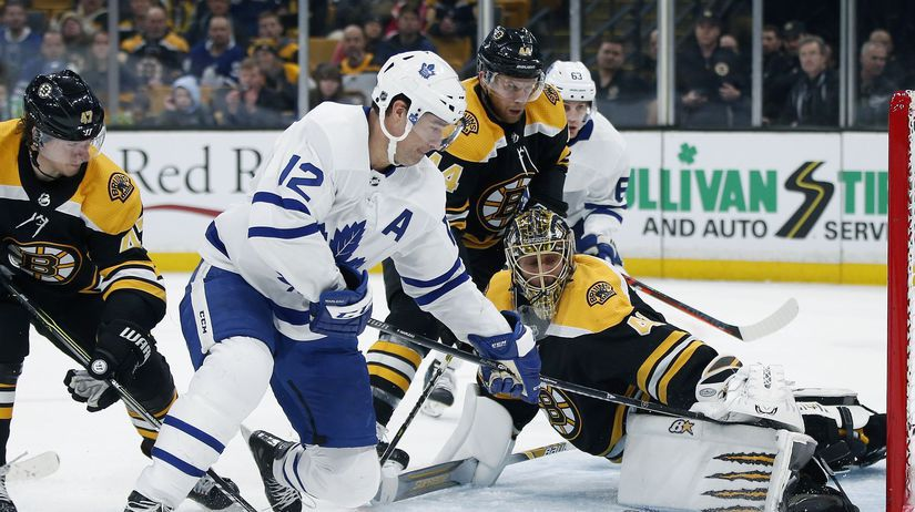 Maple Leafs Bruins Hockey halák