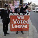 Británia EÚ brexit návrh Mayová Juncker hlasovanie