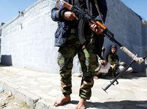 húsíovia, jemen, povstalec, militant, zbraň