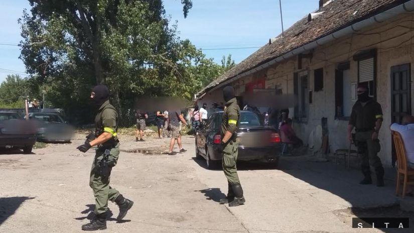 POLÍCIA Drogy kriminalita Sereď