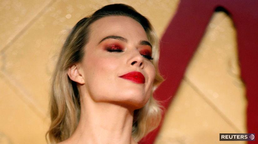 Herečka Margot Robbie na premiére filmu -...