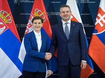 PREMIÉR: Prijatie srbskej premiérky