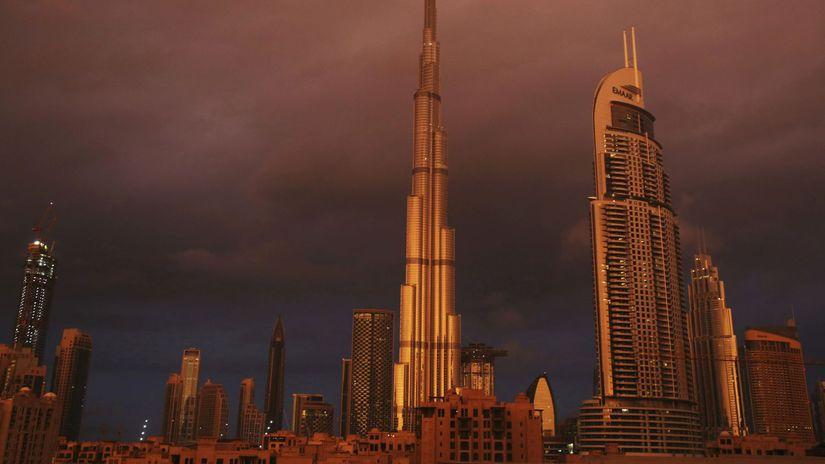 SAE, Spojené arabské emiráty, Burdž Kalifa,...