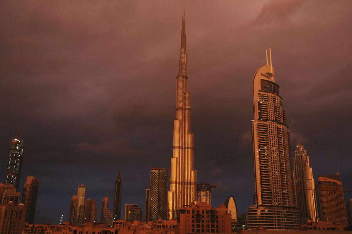SAE, Spojené arabské emiráty, Burdž Kalifa, Burj Khalifa, Dubaj, mrakodrapy