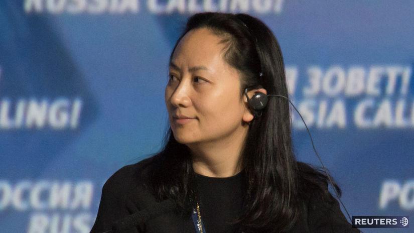 Čína, USA, Huawei, Meng Wan-čou