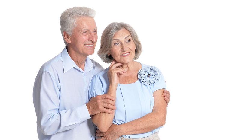 seniori, dôchodci, manželia, dôchodok, penzia