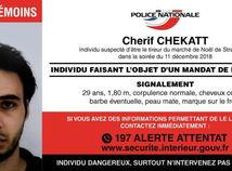 Francúzsko, útok, Štrasburg, terorizmus, podozrivý