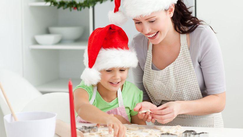 vianočné pečenie, linecké, medovníky
