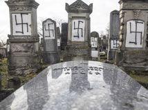 Francúzsko cintorín zneuctenie