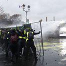Francúzsko vláda opatrenia protesty násilnosti