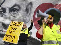 Izrael, Tel Aviv, protesty, žlté vesty