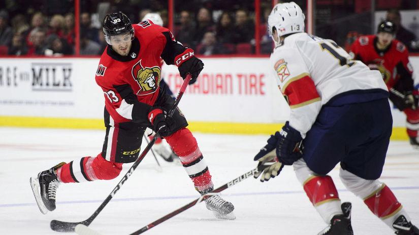 Panthers Senators Hockey jaroš nhl