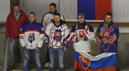 Švajčiarsko hokej Slovensko fanúšikovia