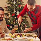 vianočná večera, večera, sviatky, rodina