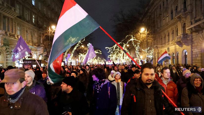 Maďarsko, Budapešť, Kossuthovo námestie,...