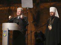 Ukrajina, porošenko, pravoslávna cirkev, Kyjev, Jepifanij