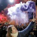 Anna Donáthová, maďarsko, protest