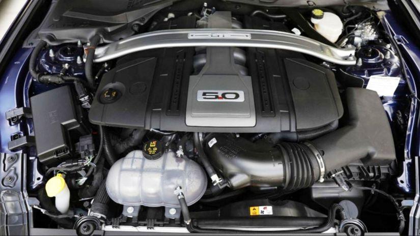 Ford Mustang - motor