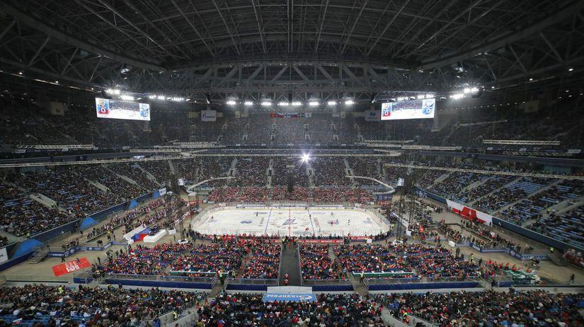 hokej štadión diváci