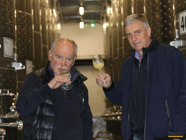 Obrázok Víno z prezidentovej vinice