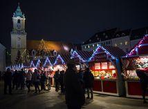 SR sviatky vianočné trhy Bratislava, hlavné námestie