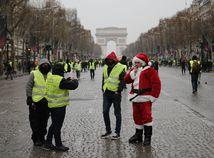 Francúzsko, Paríž, žlté vesty