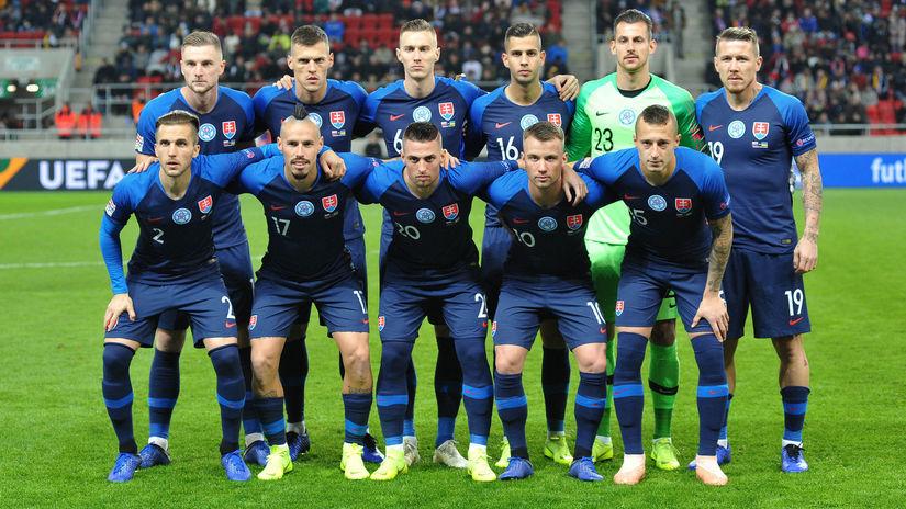 FUTBAL-LN: Slovensko - Ukrajina