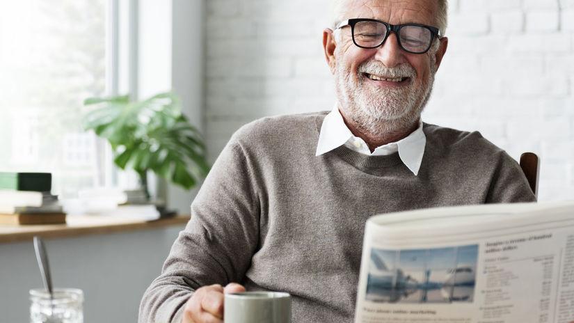 muž, dedko, senior, dôchodca
