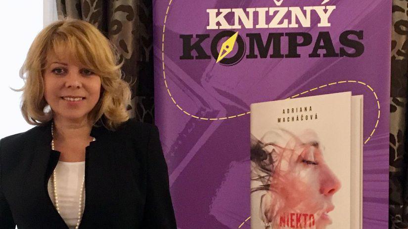 Spisovateľka Adriana Macháčová.