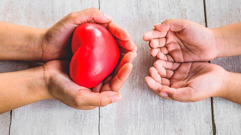 srdce, orgány, transplantácia, darcovstvo