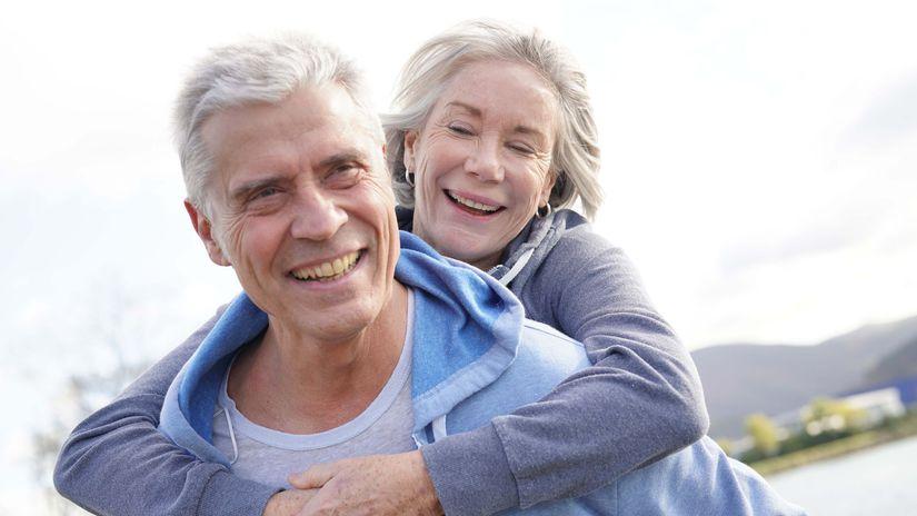 dôchodok, manželia, seniori
