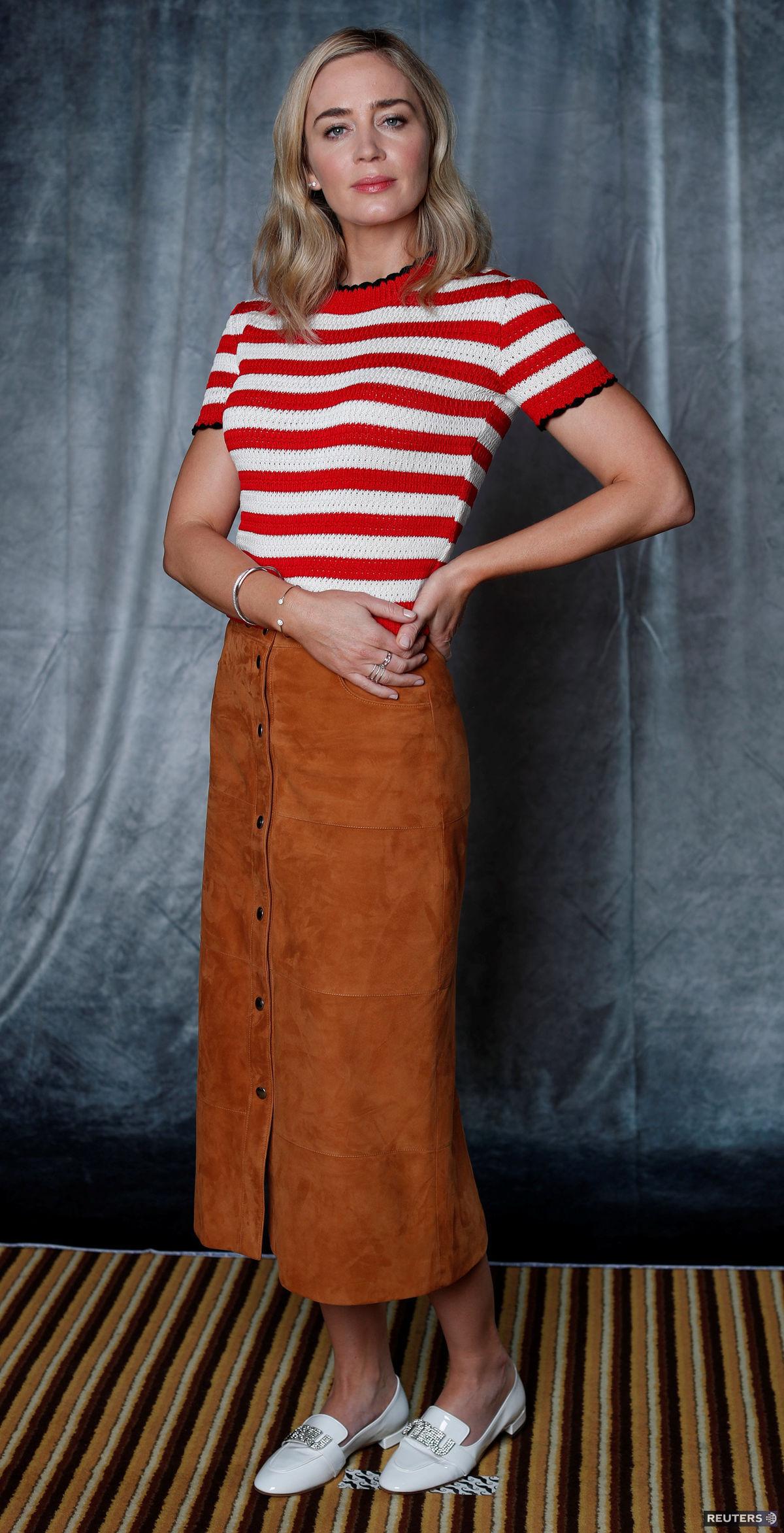 Herečka Emily Blunt.