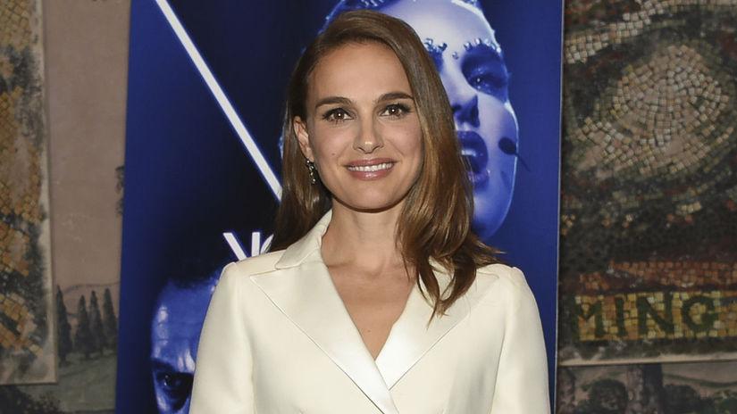 Herečka Natalie Portman na premietaní filmu Vox...