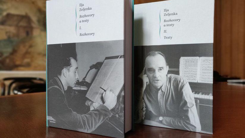 Kniha Ilja Zeljenka, Rozhovory a texty